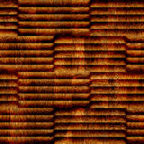 Abstract wooden paneling - seamless background - different color Stock Photos