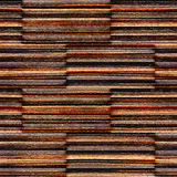 Abstract wooden paneling - seamless background - Ebony wood Royalty Free Stock Photo