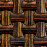 Abstract wooden paneling - seamless background - Ebony wood Royalty Free Stock Photos