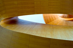 Abstract of a wooden stair Royalty Free Stock Images