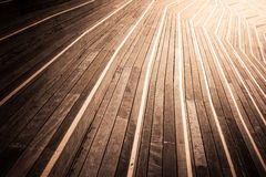 Abstract wooden stairs background Stock Images