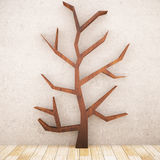 Abstract wooden tree Stock Photo