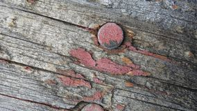 Abstract Woodwork. Old once painted woodwork stock image
