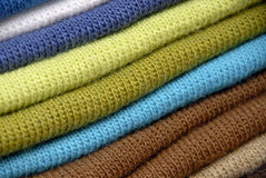 Abstract Woollens. A Close Up Shot Abstract Woollens Royalty Free Stock Image