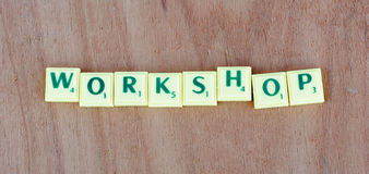 Abstract workshopteken Stock Fotografie