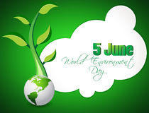 Abstract world environment day concept background, Royalty Free Stock Image