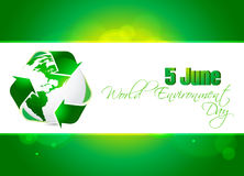 Abstract world environment day concept background, Royalty Free Stock Photo