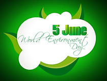 Abstract world environment day concept background, Royalty Free Stock Photos