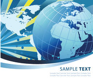 Abstract world globe design Stock Photos