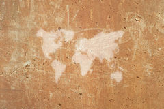 Abstract world map Royalty Free Stock Photography