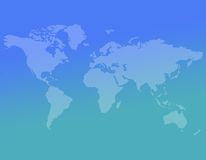Abstract world map background Royalty Free Stock Images