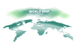 Abstract world map dot grid background. Vector hemispheres demonstration. geography atlas. Abstract world map dot grid background. geography atlas Royalty Free Stock Image