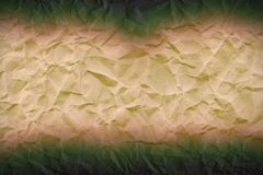 Abstract wrinkled paper pattern in borders. Pattern of abstract wrinkled paperin borders - creative still Royalty Free Stock Image