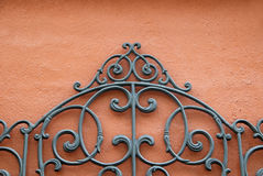 Abstract Wrought Iron Royalty Free Stock Image
