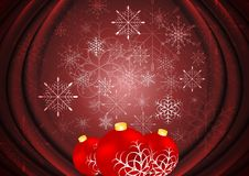 Abstract X-mas background. Vector illustration Royalty Free Stock Image