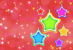 Abstract xmas background Royalty Free Stock Photos