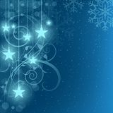 Abstract Xmas Background Stock Photography