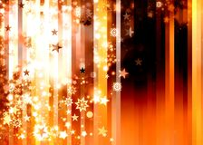 Abstract xmas golden brown background Stock Image
