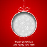 Abstract Xmas greeting card Stock Photos