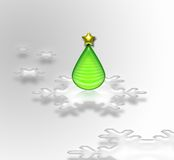 Abstract xmas tree Royalty Free Stock Photography