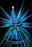 abstract xmas tree Royalty Free Stock Image