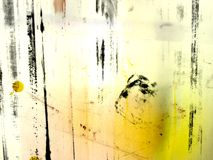 Abstract Yellow Royalty Free Stock Photos