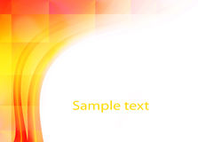 Abstract yellow background. Abstract yellow shape background with space for text Royalty Free Stock Photography