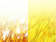 Abstract yellow background. Abstract suitable to use as an autumn background Stock Photos