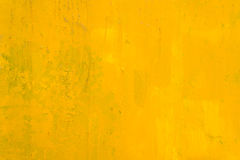 Abstract yellow background. Abstract yellow painting background and texture Stock Photography