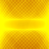 Abstract yellow background. Bright yellow lines. Geometric pattern in yellow and brown colors. Stock Images