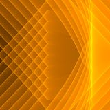 Abstract yellow background. Bright yellow lines. Geometric pattern in yellow and brown colors. Digital art Royalty Free Stock Image