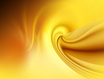 Abstract yellow background fo design. Abstract golden graphics background fo design artworks, cards royalty free illustration