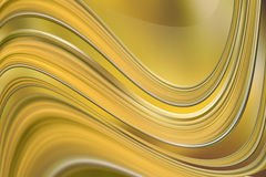 Abstract yellow background. Abstract yellow gold wave curves background Royalty Free Stock Photography