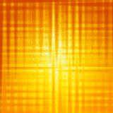 Abstract yellow background with shining squares Royalty Free Stock Images