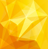 Abstract yellow background. Vector illustration Stock Photos