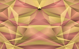 Abstract yellow background. Vector Illustration Royalty Free Stock Photography