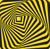 Abstract yellow black rectangle Royalty Free Stock Image