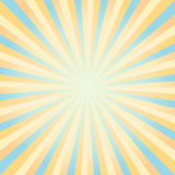 Abstract Yellow and Blue rays background. Vector Stock Photos