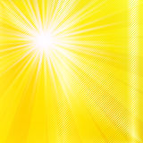 Abstract yellow brighy summer background Stock Images