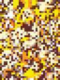 Abstract yellow and brown rectangles pattern Royalty Free Stock Images