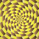 Abstract yellow-brown shading background Royalty Free Stock Photo