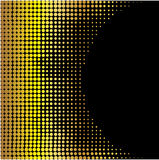 Abstract yellow circle background. Stock vector Stock Photo