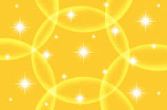 Abstract yellow color background with star Royalty Free Stock Photos