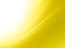 Abstract yellow curves background. With space for text Royalty Free Stock Photo