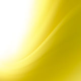 Abstract yellow curves background. With space for text Royalty Free Stock Image