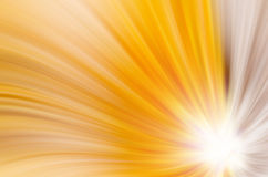 Abstract yellow curves background Stock Photography