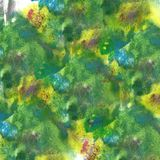 abstract Yellow, dark blue, green isolated watercolor stain rast stock photos