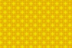 Abstract yellow flower pattern background.  Royalty Free Stock Image