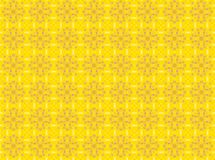 Abstract yellow flower pattern background.  Stock Images