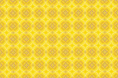 Abstract yellow flower pattern background.  Stock Photos